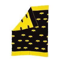Lily & George Batboy Knit Blanket
