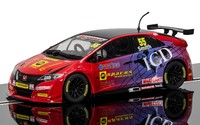 Scalextric: DPR BTCC Honda Civic Type R, Jeff Smith - Slot Car