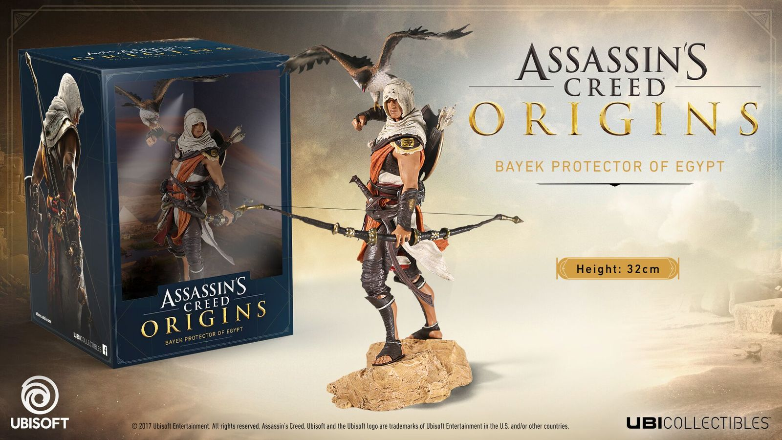 Assassin S Creed Origins Bayek Figure At Mighty Ape Nz