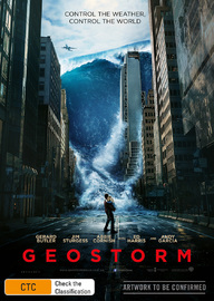 Geostorm on DVD