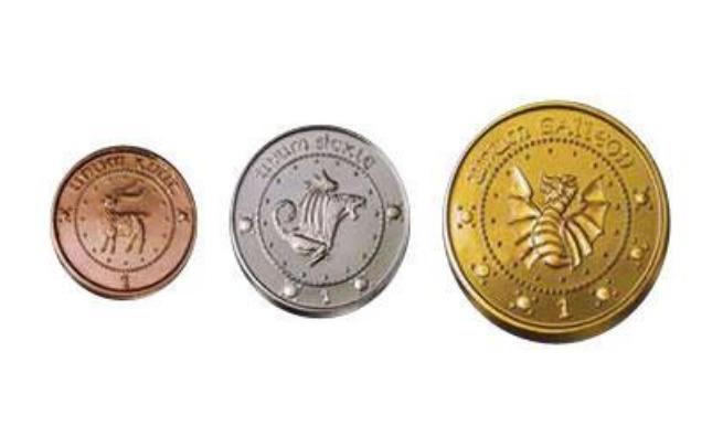 Harry Potter: Premium Replica - Gringotts Bank Coin Collection image
