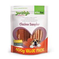 Vitapet: Jerhigh Chicken Sampler (400g)