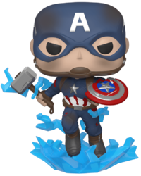 Avengers: Endgame - Captain America (with Mjolnir) Pop! Vinyl Figure