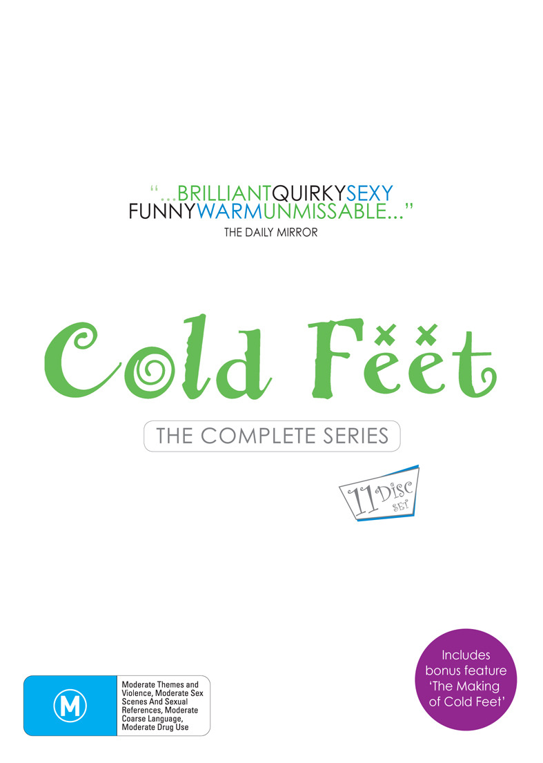 Cold Feet - The Complete Series (11 Disc Box Set) on DVD image