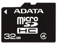 32GB ADATA - MicroSDHC Card (Class 4)