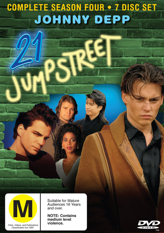 21 Jump Street - Complete Season 4 (7 Disc Set) on DVD