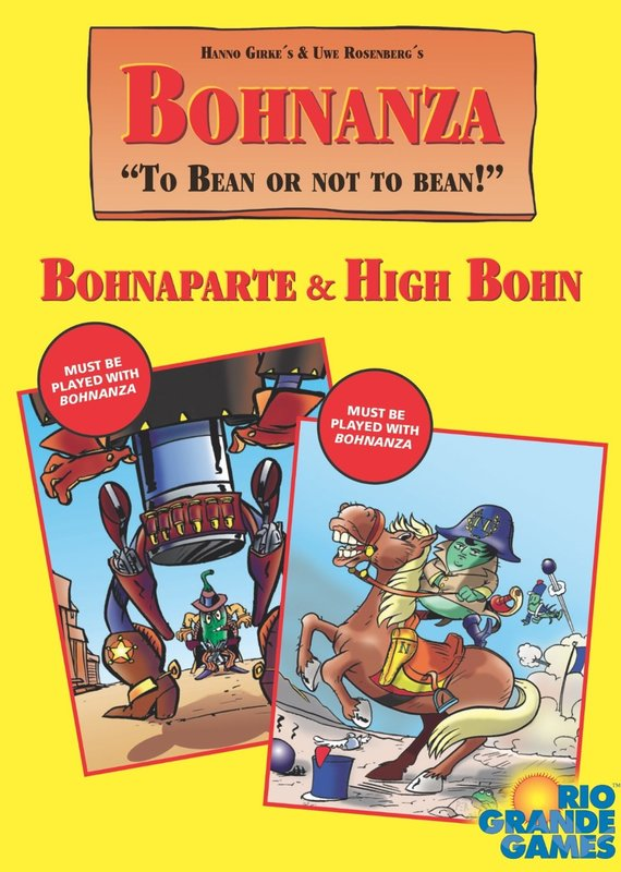 Bohnanza: Bohnaparte & High Bohn Expansions