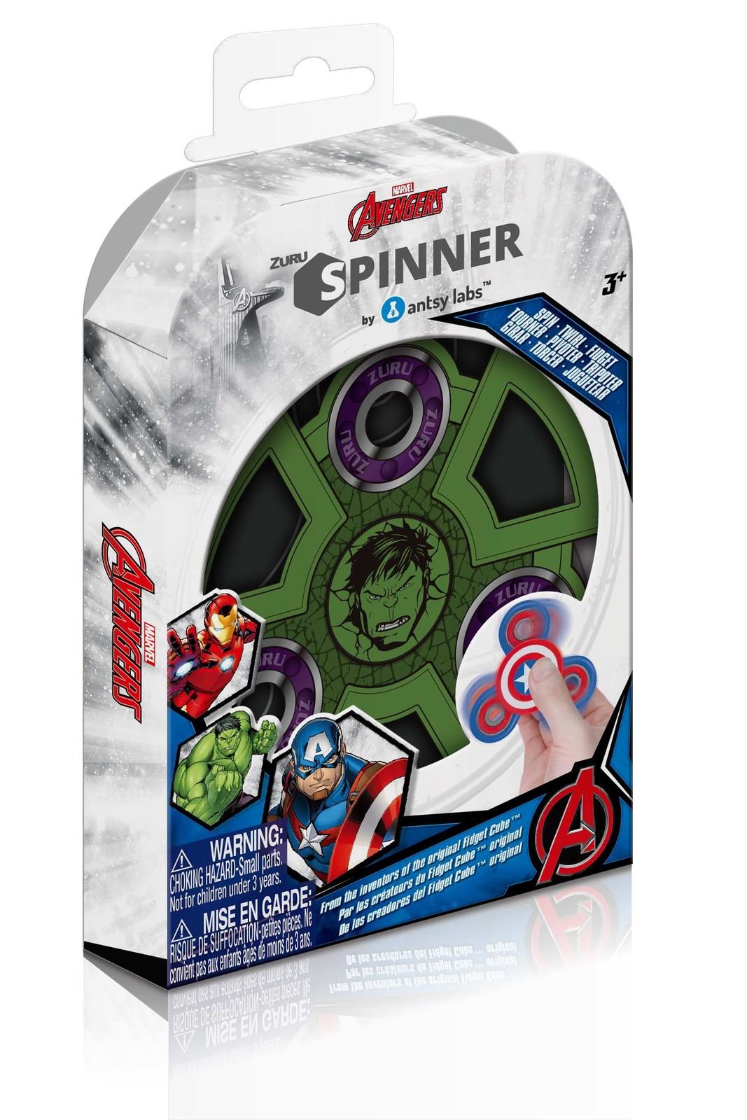 Zuru Marvel Fidget Spinner (Hulk) image