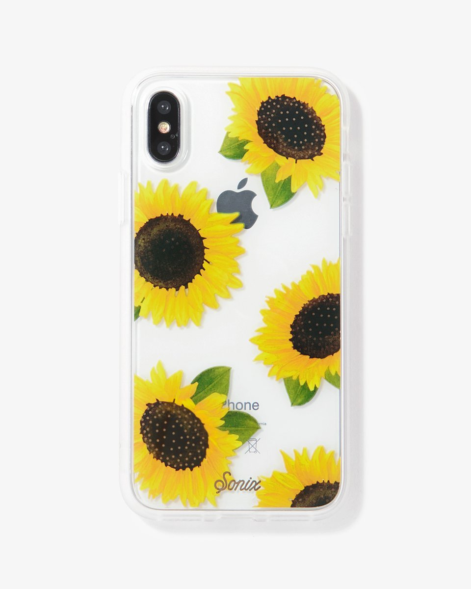 reputable site 88bf5 f8776 Sonix: Clear Case for iPhone XR - Sunflower