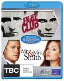 Mr. and Mrs. Smith / Fight Club (2 Disc Set) on Blu-ray