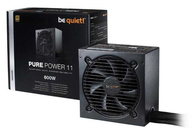600W be quiet! Pure Power 11