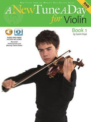 A New Tune A Day for Violin by Sarah Pope image