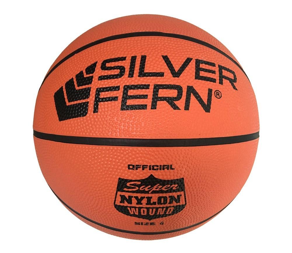 Silver Fern Basketball (Size 6) image