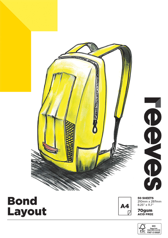 Reeves: Bond Pad - A4 (70GSM, 50 Sheets)