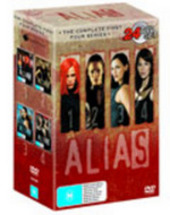 Alias - The Complete First Four Series (24 Disc Box Set) on DVD