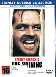 The Shining on DVD image