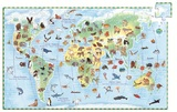 Djeco: World Animals Jigsaw Puzzle