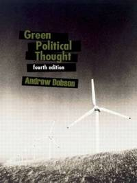 Green Political Thought by Andrew Dobson image