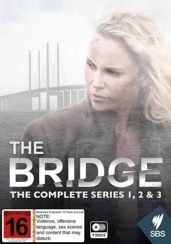 The Bridge - The Complete Series 1, 2 & 3 on DVD