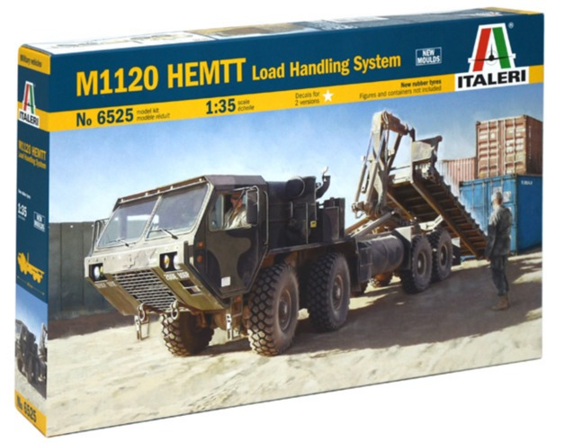Italeri: 1/35 M1120 HEMTT Load Handling System - Model Kit