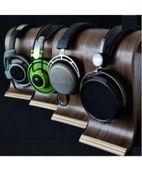 Wooden Studio Headset Stand image
