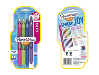 Paper Mate Inkjoy Gel Pen - Fashion 4-pack
