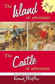 Adventure Series: Island & Castle Bind-up by Enid Blyton image