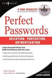 Perfect Password by Mark Burnett