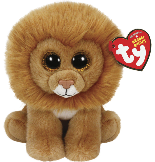 Ty Beanie Babies: Louie Lion - Small Plush