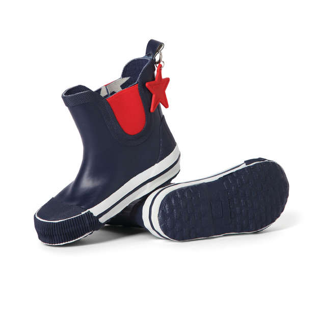 Gumboot Navy Star (Size AU10 / EU28)