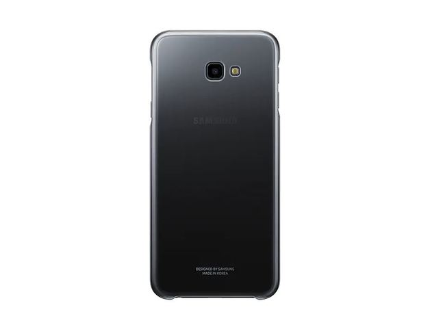 Samsung Galaxy J4+ Gradation Protective Case - Black