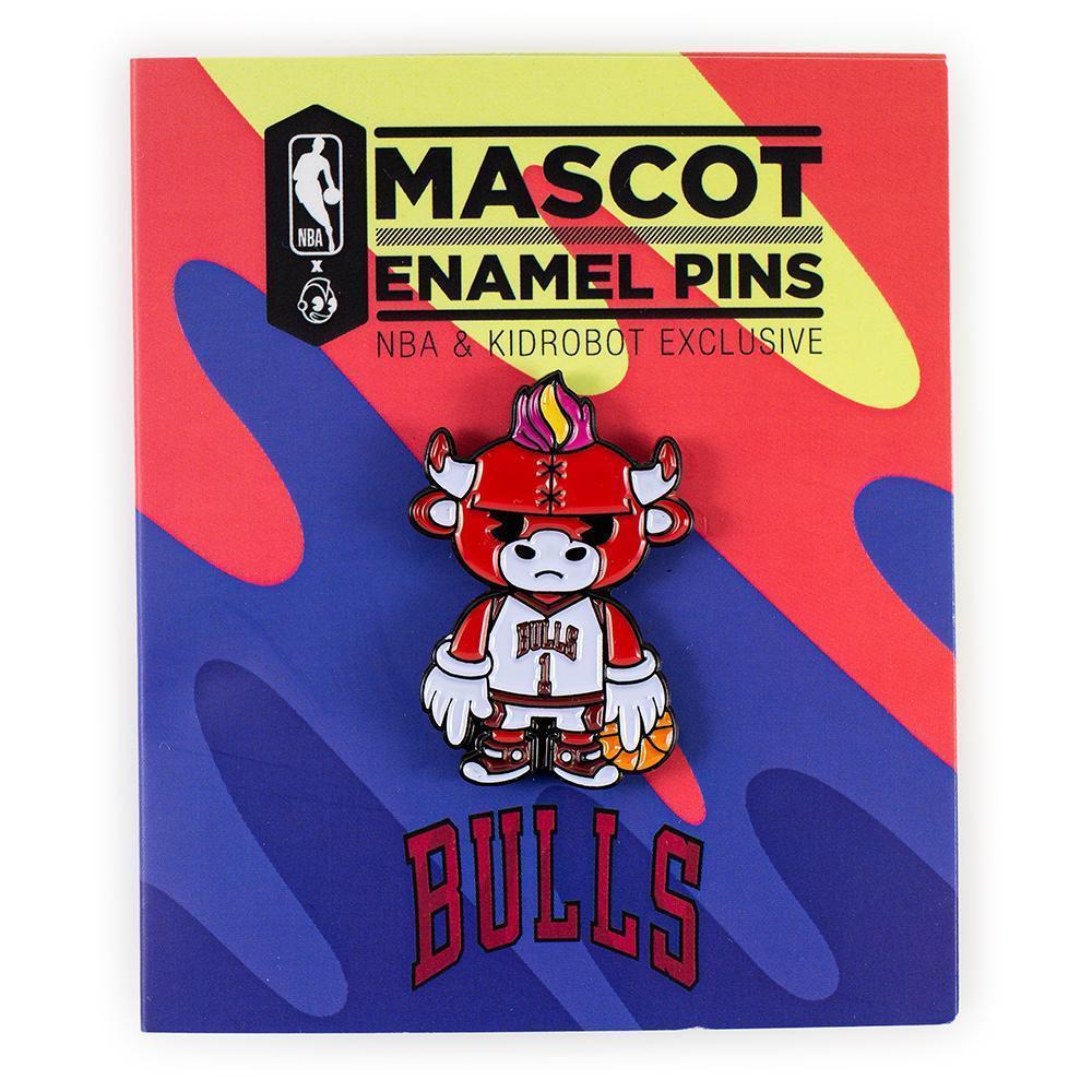 NBA: Chicago Bulls - Benny Mascot Enamel Pin image