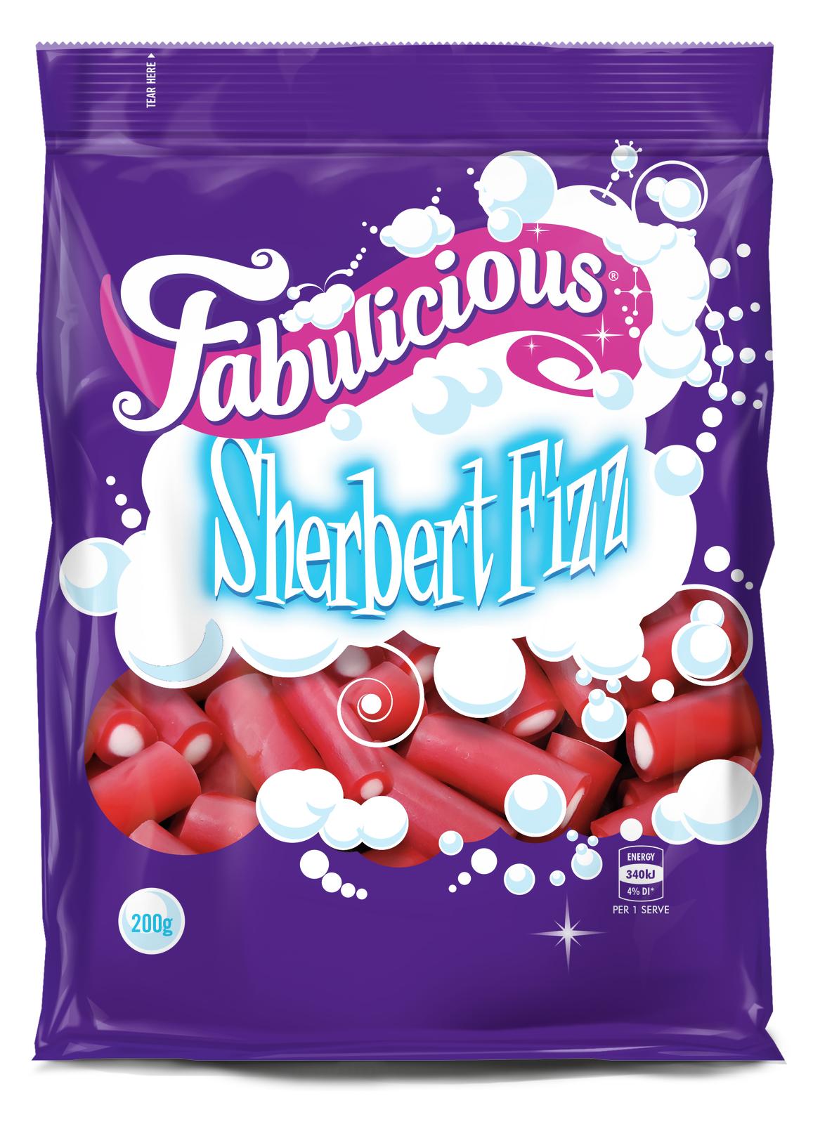 RJs Fabulicious Sherbert Fizz (200g) image