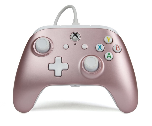 Xbox One Enhanced Wired Controller - Rose Gold for Xbox One
