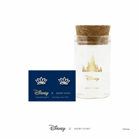 Short Story: Disney Earring Jasmine Lotus - Silver image