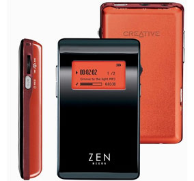 CREATIVE LABS Creative Zen Neeon Red 6Gb FM SE MP3 Player