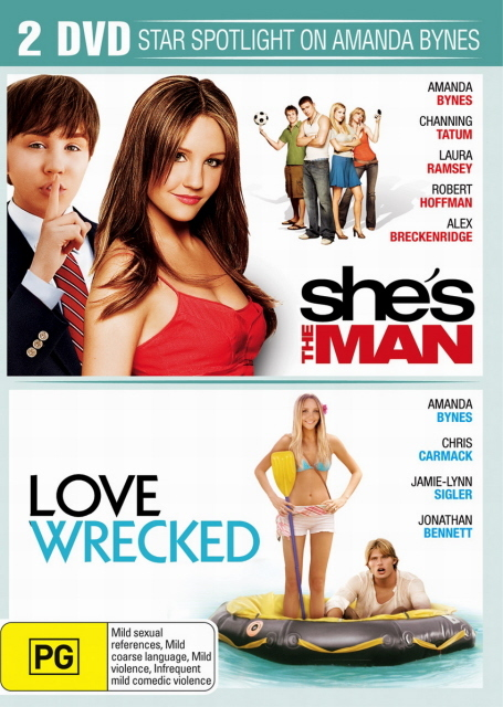 She's The Man / Lovewrecked (2 Disc Set) on DVD