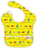 Dr Seuss Waterproof Super Bib - Yellow