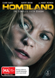 Homeland - Season 5 on DVD