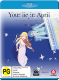 Your Lie In April Part 2 (eps 12-22) on Blu-ray