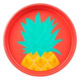Sunnylife Round Tray - Pineapple