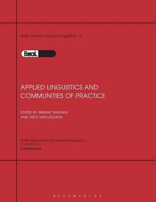 Applied Linguistics & Communities of Pra by Sarangi & Van Leeuwen image