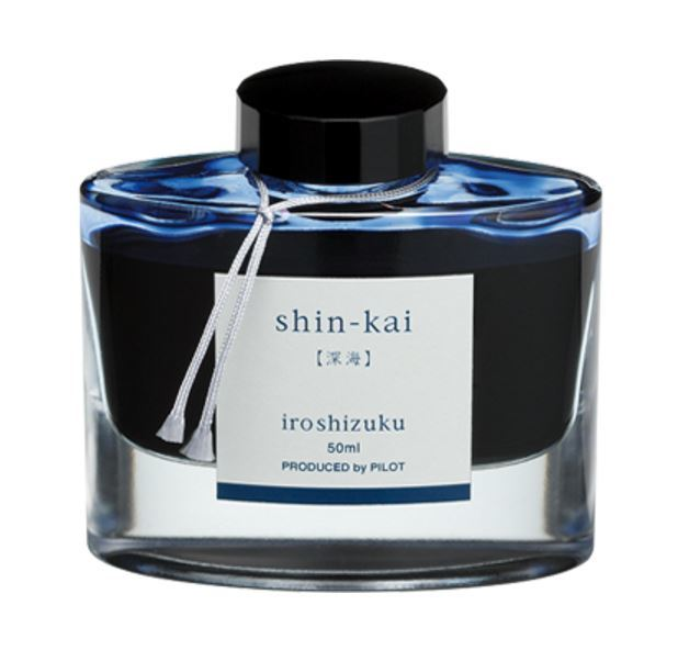Pilot Iroshizuku Ink Bottle - Deep Sea (50ml)