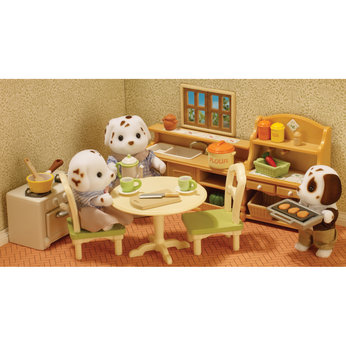 sylvanian families country kitchen sylvanian families country kitchen set images at mighty 5965