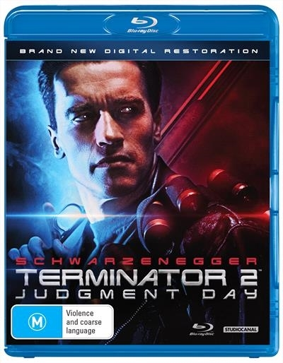 Terminator 2: Judgement Day on Blu-ray