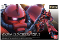 1/144 RG: RG Zaku II (Johnny Ridden Custom) - Model Kit