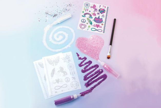 Make It Real: Shimmer Tattoos - Fashion Kit