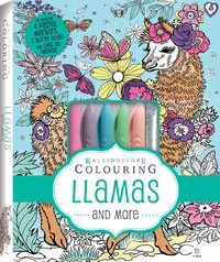 Kaleidoscope: Colouring Kit - Llamas and More image