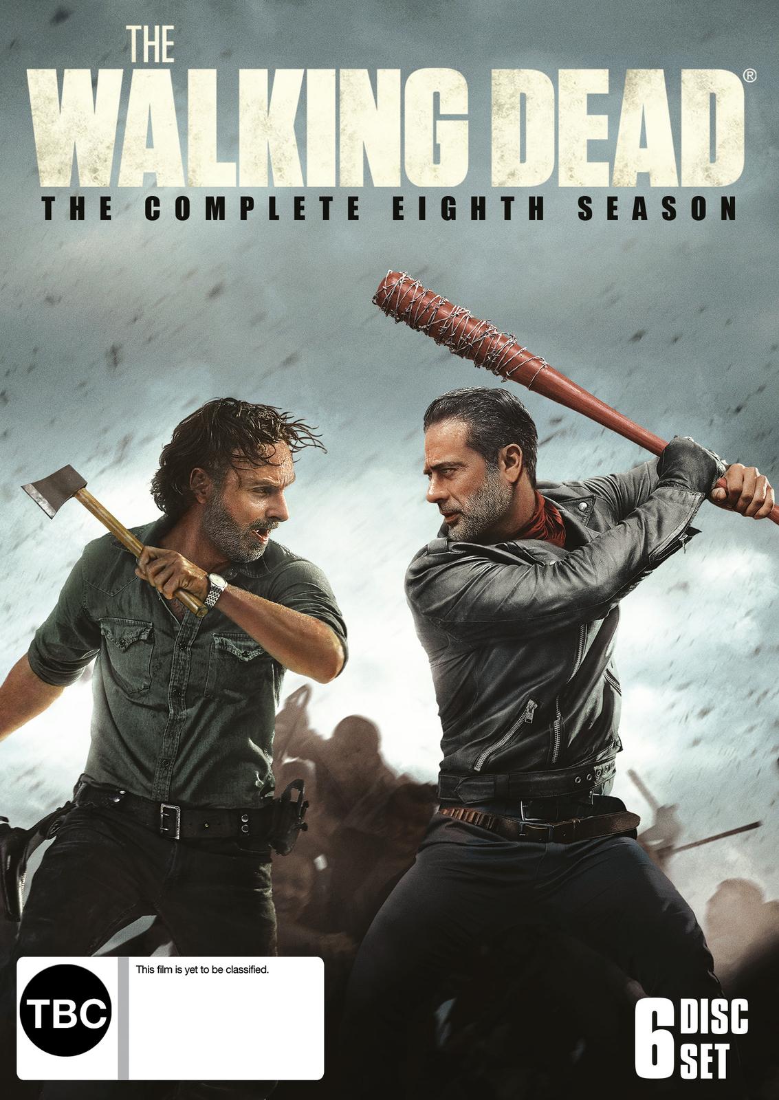 The Walking Dead: Season 8 on DVD image