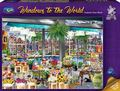 Holdson: 1,000 Piece Puzzle - Windows of the World (Amsterdam Flower Market)